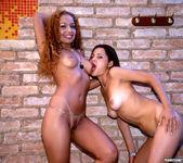 Latin Babes Barbi And Larissa Share Hot Facial 9