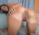 French Slut Pamela Swallows A Thick Load Of Ball Butter 16