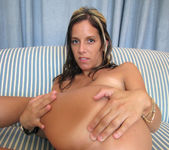 French Slut Pamela Swallows A Thick Load Of Ball Butter 26