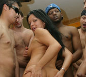 Latin Babe Valentina Gets Her Face Covered In Cum 18