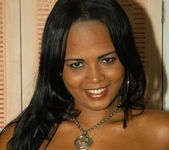 Sweet Latina Aline Gets Both Her Holes Drilled 10