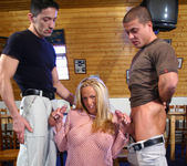 Euro Slut Judy Blond Gets Double Fucked And Facialized 6