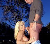 Legendary Busty Blonde Jill Kelly Takes One For The Team 14