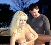 Legendary Busty Blonde Jill Kelly Takes One For The Team 21