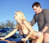 Legendary Busty Blonde Jill Kelly Takes One For The Team 26