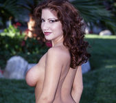 Latin Babe Angelica Gets Nailed By A Big Cock By The Pool 5