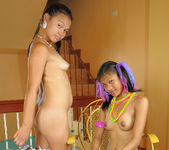 Philippino Babes Alice And Rose Get Fucked By A Big Cock 14