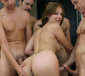 Jersey Cummings Get Her Face Sloshed By Multiple Cocks 12
