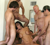 Tera Leigh vs Five Guys 2