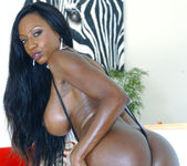 Diamond Jackson was Built for Taking a Big Black Cock 3