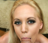 Blonde Kacey Villainess Giving a Very Flirty POV Blowjob 15