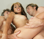 Keeani Lei - Group Sex with Double Penetration and Anal 16