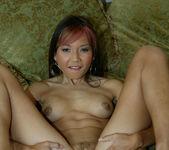 Skinny Asian Keeani Lei Giving a Blowjob 15