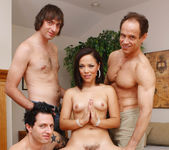 Kristina Rose Prays for a Blowjob Gang Bang and Cumshots 20