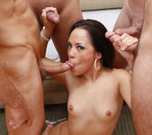 Kristina Rose Prays for a Blowjob Gang Bang and Cumshots 28