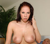 Brunette MILF Gianna Michaels Swallows After a 2 on 1 16