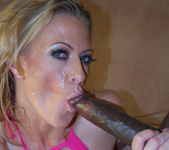 Blonde MILF Gena Eve Having Trouble with Lex's Big Dick 13
