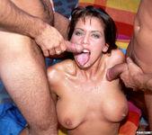 2 on 1 with Brunette Nici Sterling 24