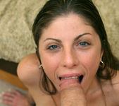 POV Blowjob and Fucking with Brunette Katie Lane 9