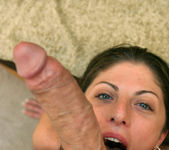 POV Blowjob and Fucking with Brunette Katie Lane 12
