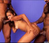 Anal 2 on 1 with Latina Nympho Nivea 12