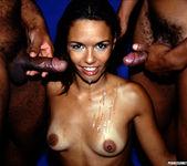 Anal 2 on 1 with Latina Nympho Nivea 16