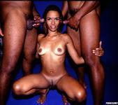 Anal 2 on 1 with Latina Nympho Nivea 17