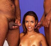 Anal 2 on 1 with Latina Nympho Nivea 18
