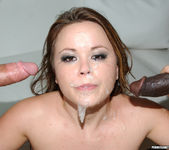 Anal 2 on 1 with Brunette Kaci Starr 15