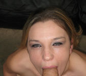 POV Blowjob with 18 to 21 Brunette Becky Sweet 26