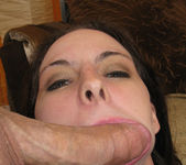 Sexy and Silly Brunette Hunter Cherri Giving a POV Blowjob 30