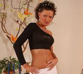 Flawless Brunette MILF Rita Black Fucking Toys and Cock 2