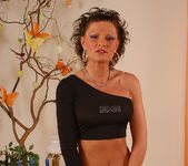 Flawless Brunette MILF Rita Black Fucking Toys and Cock 12