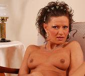 Flawless Brunette MILF Rita Black Fucking Toys and Cock 27