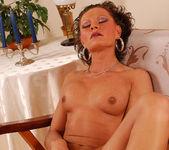 Flawless Brunette MILF Rita Black Fucking Toys and Cock 28