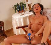 Flawless Brunette MILF Rita Black Fucking Toys and Cock 29