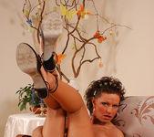 Flawless Brunette MILF Rita Black Fucking Toys and Cock 30