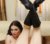 Fucking Cassandra Calogera, a Pale Brunette with Big Tits 30