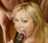 Adrianna Nicole Hungers for a Blowjob Gang Bang 13