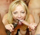 Adrianna Nicole Hungers for a Blowjob Gang Bang 14