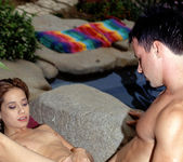 Alex Dane - Thin Brunette Gets Anal in a Hot Tub 16