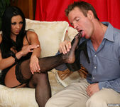 Audrey Bitoni Fucked by a Fellow Foot Fetishist 8