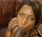 Ebony Beauties on Lex's Big Dick 14