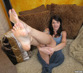 Lexi Bardot Gives a Blowjob and FootJob 9