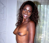 Midori - Beautiful Thin Ebony Lady Gets Frisky 2