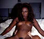 Midori - Beautiful Thin Ebony Lady Gets Frisky 15