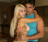 Priscila - Tiny Blonde Latina Owns a Guy With her Pussy 2