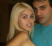 Priscila - Tiny Blonde Latina Owns a Guy With her Pussy 3