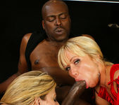 Austin Taylor and Sara Jay Stop By for a Threesome 7