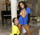 Bobbi Starr and Francesca Le - Frantic On the Set 16